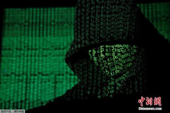 资料图:黑客。