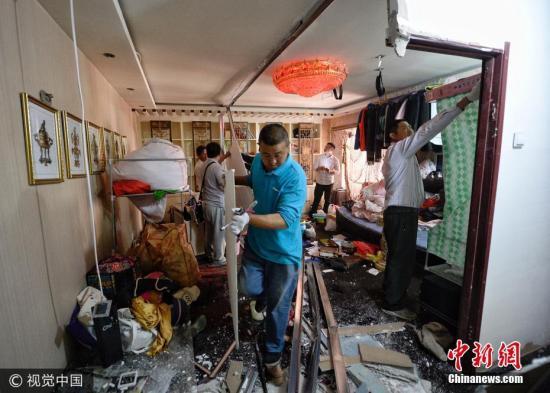 资料图:北京整治群租房。图片来源:视觉中国