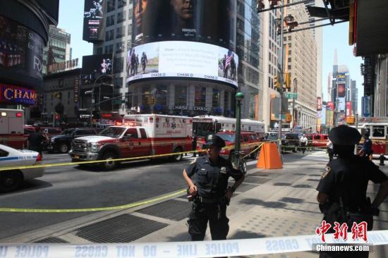纽约市严防恐袭 时报广场跨年夜保安措施超历年