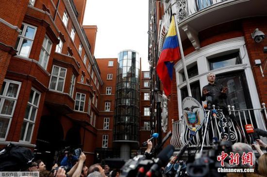 自此之后,阿桑奇从未离开过厄瓜多尔驻英国使馆,至今已长达5年。