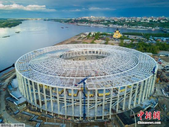 资料图:2018年俄罗斯世界杯举办场地诺夫哥罗德体育场。