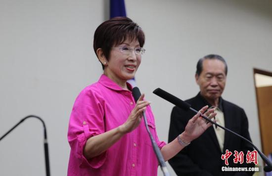 资料图:洪秀柱。 <a target='_blank' href='http://www.chinanews.com/'>中新社</a>记者 刘双双 摄