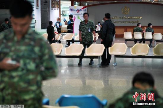资料图:发生爆炸的医院位于曼谷市中心胜利纪念碑附近,隶属于泰国军队,同时也对民众开放。