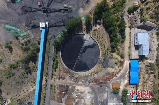 资料图:山西清徐一煤矿发生透水事故。 韦亮 摄