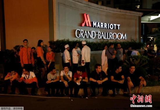 资料图:事件发生在马尼拉云顶世界(Resorts World),该处度假村临近菲律宾马尼拉首都机场,度假村里面设有赌场和酒店。