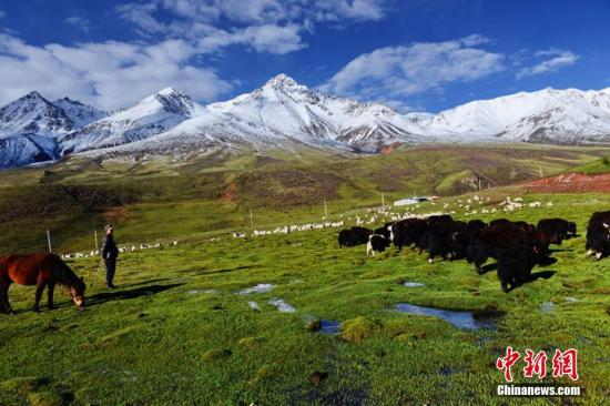 资料图:祁连山。武雪峰 摄