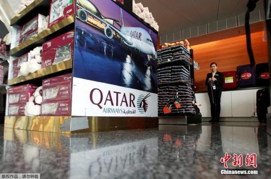 哈马德国际机场游客稀少。卡塔尔政府表示,其港口与机场保持开放,将继续与那些没有追随沙特行动的国家贸易。