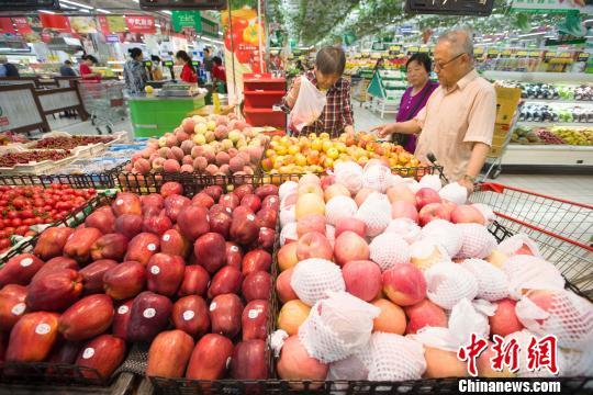 商务部:6种水果平均批发价格为每公斤8.53元 下降3.6%
