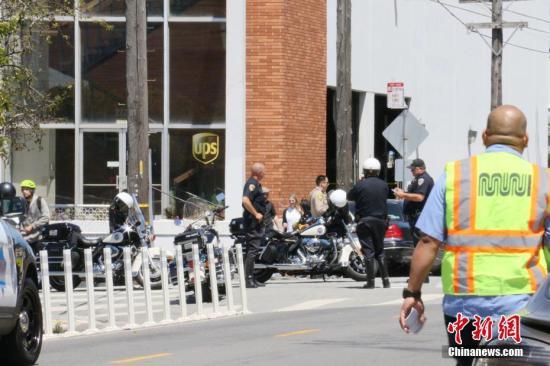 美国警方已排除事件与恐怖主义有关。<a target='_blank' href='http://www.chinanews.com/'>中新社</a>记者 刘丹 摄