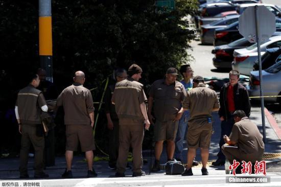当地时间6月14日上午九时许,美国联合包裹服务公司(UPS)位于旧金山的一处物流中心发生枪击案。四人中枪身亡,包括枪手本人在内。