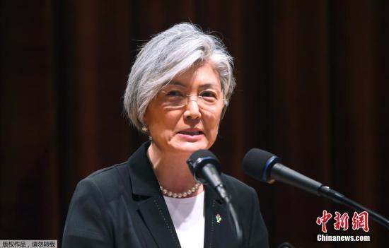"""韩外长:正讨论解除""""5·24措施""""对朝制裁"""