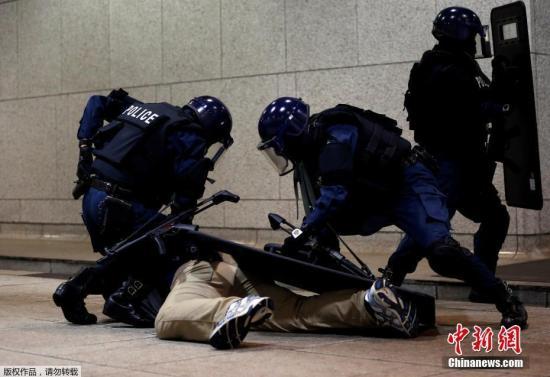 资料图:日本警察。