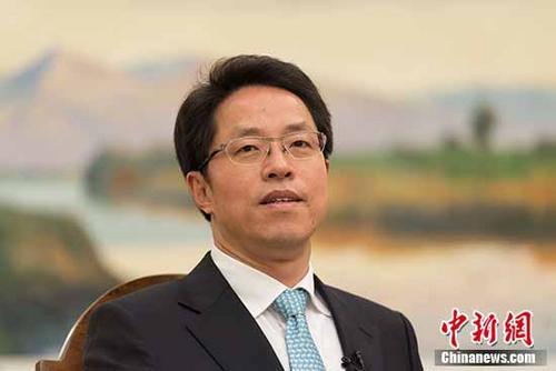 张晓明资料图。 中新社记者 崔楠 摄
