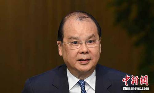 材料图:张建宗。a target='_blank' href='http://www.chinanews.com/'种孤社/a记者 谭达明 摄