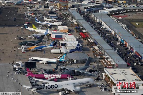 创始于1909年的巴黎航展是世界上规模最大和最负盛名的国际航空航天展会之一,本届巴黎航展为期7天。