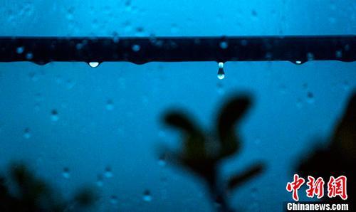 6月23日,雨中的北京。6月22日晚间至23日,北京持续降雨。中新社记者 侯宇 摄