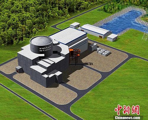"""中国自主知识产权三代核电技术""""华龙一号"""",是中国核电自主创新和集成创新的集大成者,已成为中国与高铁齐名的""""国家名片""""。 <a target='_blank' href='http://www.chinanews.com/'>中新社</a>记者 中广核 摄"""