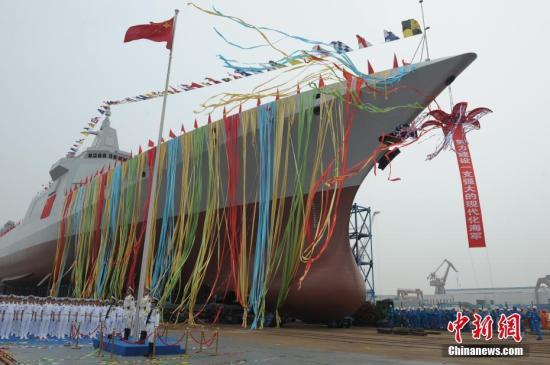 揭秘国产新型万吨级驱逐舰:各分段误差仅2到3毫米