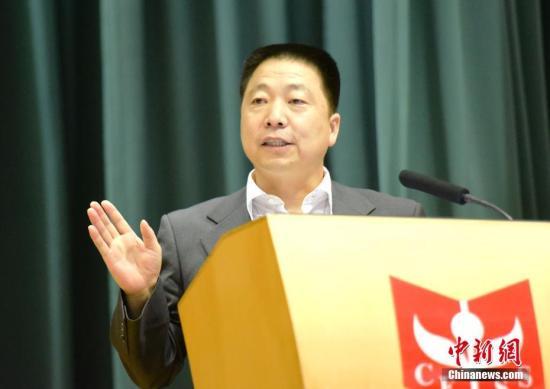 资料图:杨利伟。中新社记者 徐冬冬 摄