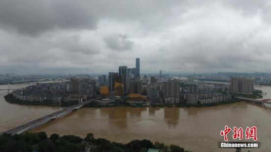"""强降雨为何带来如此""""大考""""——解析广西洪灾三大成因"""