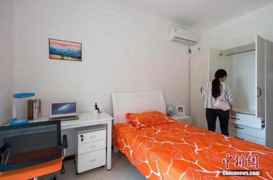 资料图:人才公寓。中新社记者 钟欣 摄