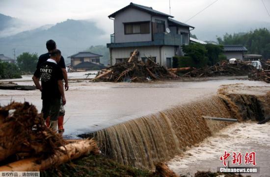 日本九州连降暴雨死亡人数升至21人超过20人失联