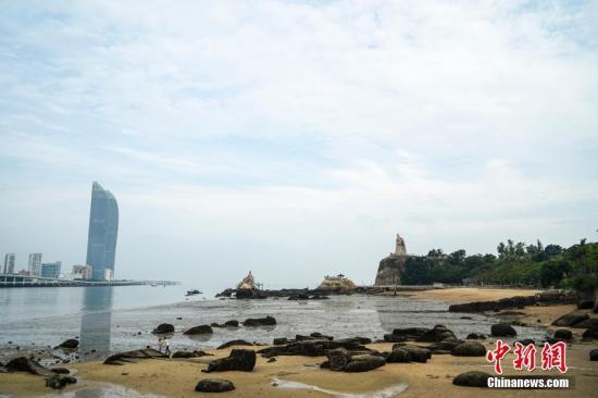 鼓浪屿沿岸。 图片来源:CTPphoto