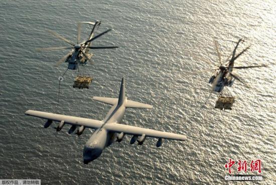 当地时间7月10日,一架美国海军陆战队的KC-130空中加油机在密西西比州坠毁,当地应急事务负责人消息称,事故共造成机上16人遇难。图为KC-130空中加油机资料图。