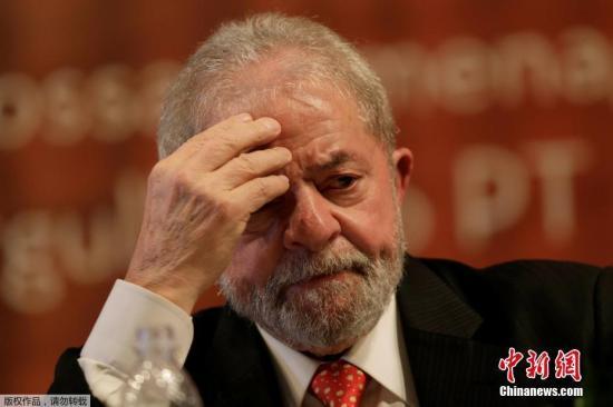资料图:巴西前总统卢拉。