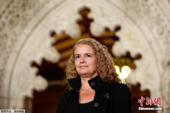 加拿大总督朱莉・帕耶特。