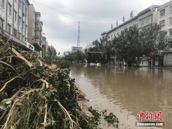 资料图:吉林省中部地区遭遇大暴雨。苍雁 摄