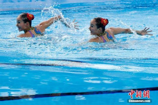 中国队再夺两枚跳水金牌 暂列世锦赛奖牌榜榜首