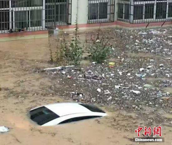 强降雨致陕西榆林19.59万人受灾 直接经济损失1.7亿
