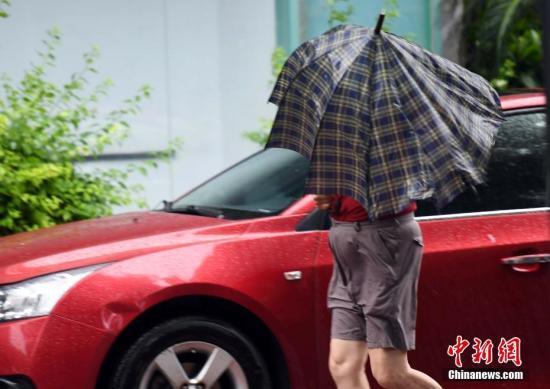 浙江省温丽台等地将受双台风强降水叠加影响