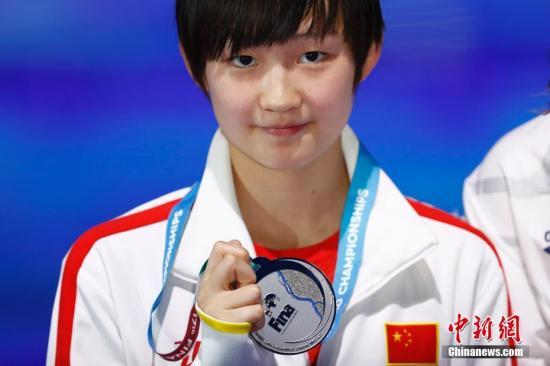 当地时间7月29日,2017国际泳联世锦赛女子800米自由泳决赛在布达佩斯举行,中国选手李冰洁以8分15秒46夺得亚军。&#10;<a target='_blank' href='http://www.chinanews.com/'>中新社</a>记者 富田 摄