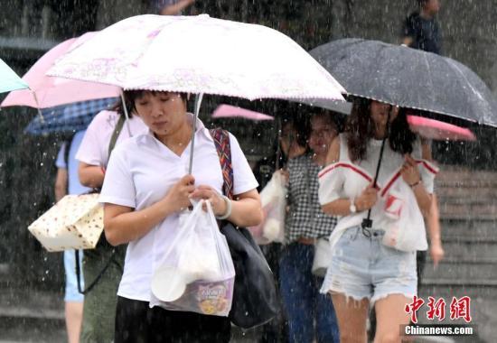 """台风""""纳沙""""""""海棠""""致福建9.5万人紧急转移安置"""