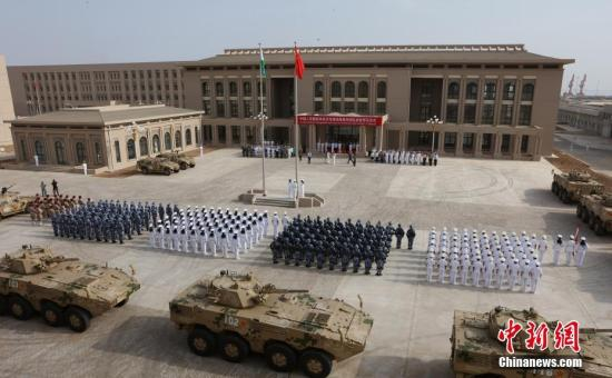 China builds new facility in Djibouti base for anti-piracy operations