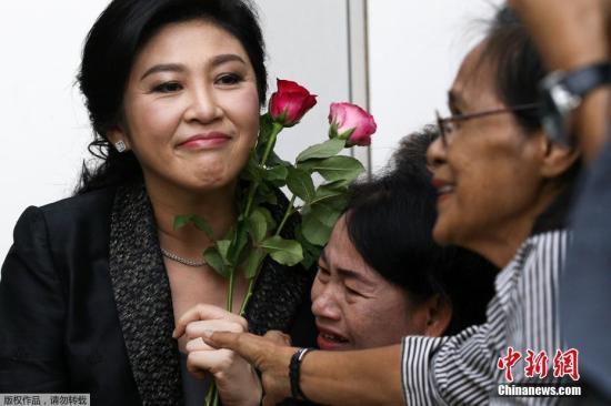 资料图:泰国前总理英拉。