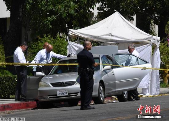 洛杉矶警察局和联邦调查局目前均介入此案调查中。