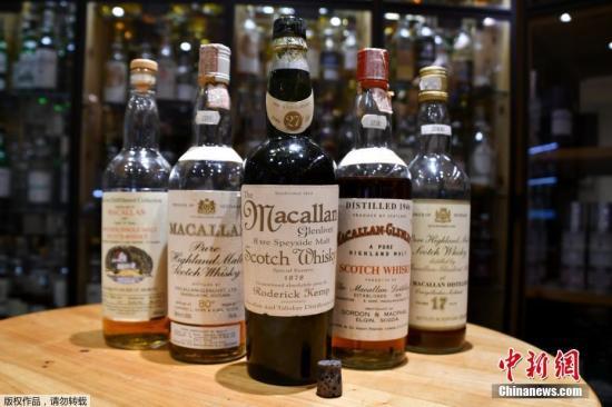 資料圖:蘇格蘭威士忌。
