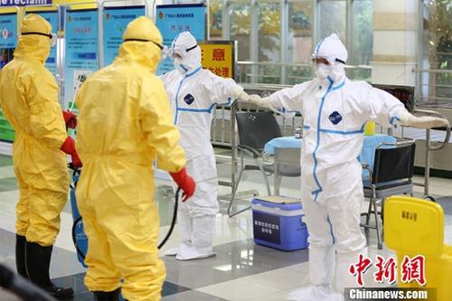 资料图:公共卫生应急处置演练。<a target='_blank' href='http://www.chinanews.com/'>中新社</a>记者 刘盛莹 摄