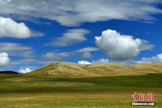 杂多草原上风景如画。 刘忠俊 摄