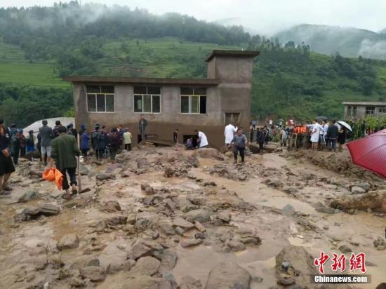 四川盆地至江汉江淮黄淮一带强降雨 致31人死亡失踪