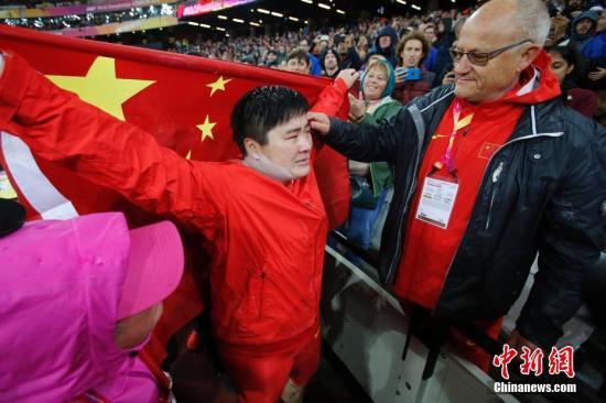 资料图:世界冠军巩立姣领衔,中国代表团在多个项目具备世界级竞争力。中新社记者 韩海丹 摄