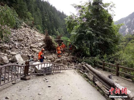 九寨沟地震431名伤员全获救治 地震对大熊猫影响不大