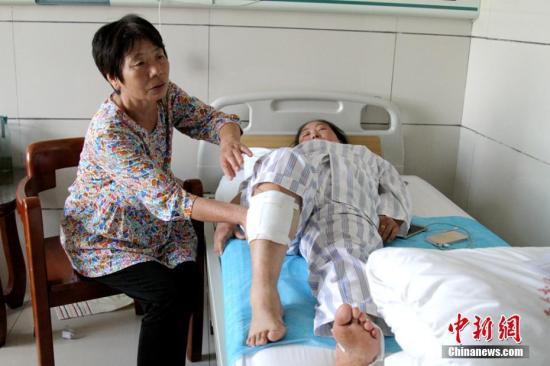 资料图:医院。 记者 田进 摄