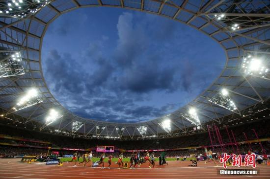 中国田径队曾经提出明白目的,力图超越上一届世锦赛正在伦敦的表示。(材料图,伦敦田径世锦赛主运动场。a target='_blank' href='http://www.chinanews.com/'中新社/a记者 韩海丹 摄)