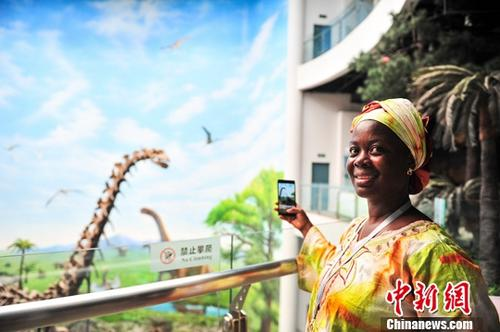资料图: 非洲人在中国 中新社记者 于海洋 摄