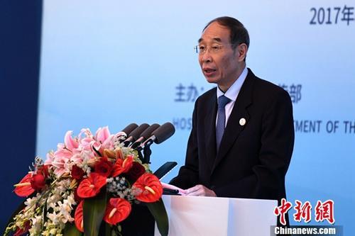 福建省委书记尤权 资料图。中新社记者 王东明 摄
