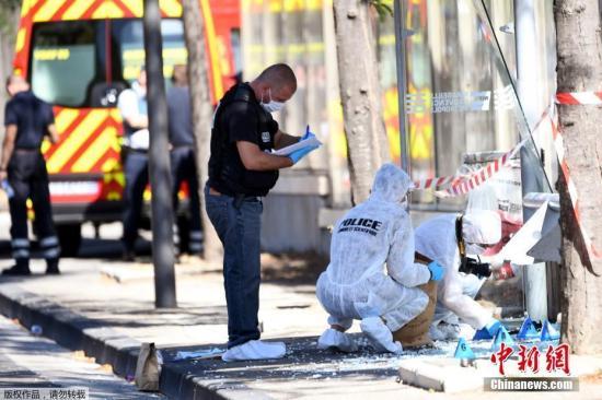 法国马赛卡车撞人一死一伤 嫌犯或有精神问题